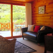 Africa Attic 2 bedroom self catering apartment lounge area