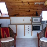 African Attic 2 bedroom self catering apartment kitchenette area