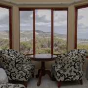 Image showing Bay suite window and easy chairs