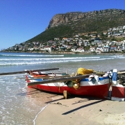 Image showing Fish Hoek beach