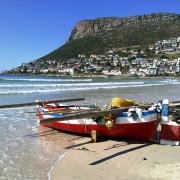 Image showing Fish Hoek beach