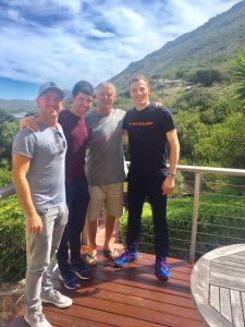 Dunvegan Lodge and Nick Matthew JP Britz and Christo Potgieter