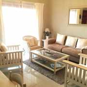 Image showing Bay suite lounge and whitewashed furniture