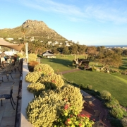 Image showing view from Clovelly golf clubhouse